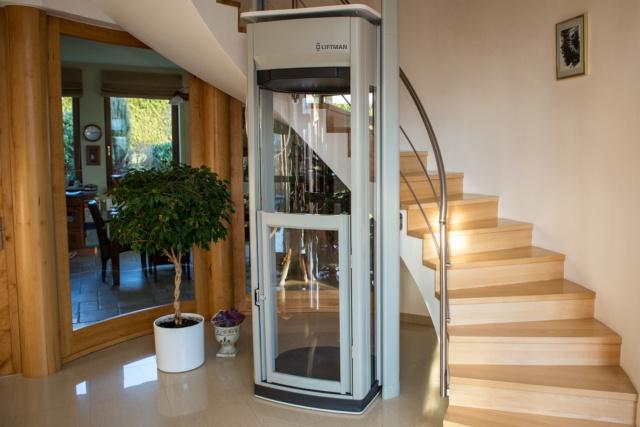 Liftman DUO – instalace schodiště, přízemí
